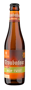 Troubadour hop twist flesje brouwerij the musketeers
