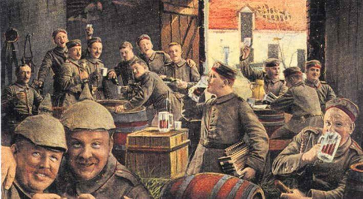 Bier en de Groote Oorlog - de hele wereld drinkt!