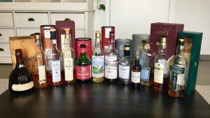 Line up Legends Whisky Tasting