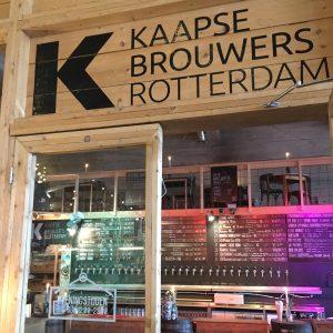 Kaapse Brouwers Rotterdam taps