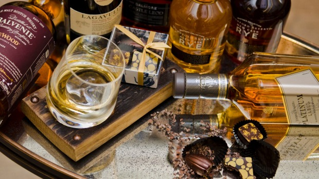 whisky en chocolade